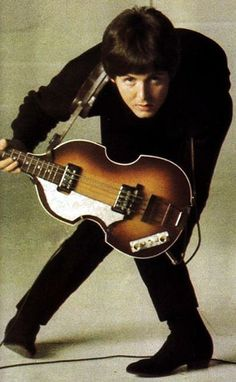 Paul and his bass guitar