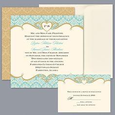Detailed Elegance - Invitation