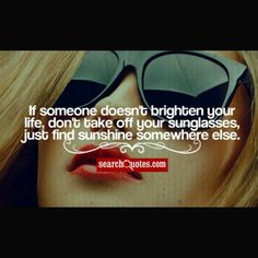 If someone doesn't brighten your life, Don't take off your #sunglasses, Just find sunshine somewhere else. #MotivationalMonday ******************************************************** #besteyewearbuckscounty #besteyewearPA #eyeexamsbuckscounty #eyeexamsbucks #besteyeglassesdesigns #designerframesbuckscounty #besteyewearfairless #besteyewearsouthampton #besteyewearnewtown #buckscountyeyewear #buckscountyfashioneyewear #buckscountyeyeexams #BucksCountydesignerEyeglasses…