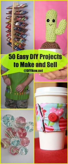 50 Easy DIY Projects to Make and Sell