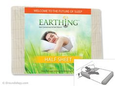 """""""This is a universal grounding / earthing sheet or 'bed pad' for grounding while sleeping. It is a cotton half-sheet with soft, yet durable conductive silver fibres woven throughout the material – in total each sheet contains nearly mile of silver. Systemic Inflammation, Earthing Grounding, Welcome To The Future, Bed Pads, Everything Is Energy, Twin Sheets, Sheets Bedding, 100 Cotton Sheets, Good Sleep"""