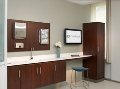 formica® colorcore2™ 912 storm in this medical office | formica