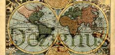 free world map printable by designus