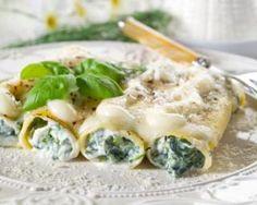 Cannelloni épinards-ricotta : Savoureuse et équilibrée | Fourchette & Bikini
