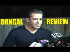 Salman Khan's reaction after watching Aamir Khan's DANGAL movie. Dangal Movie, Movies, Aamir Khan, Interview, Youtube, Fictional Characters, Films, Cinema, Film Books