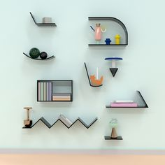 The OGN collection has few shelves with interesting shapes and ... - UpVisually.com