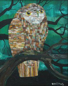 'Tree Owl' by Geoffrey Benzing