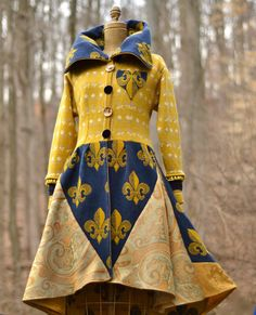 Reserved for ZiLLAsQuEeN. Spring sweater Coat with by amberstudios