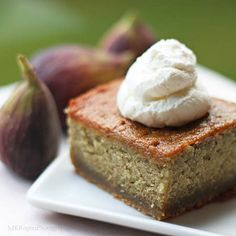 Fig Cake with Fresh Fig Preserves http://lostrecipesfound.com/recipe/fig-cake-with-fresh-fig-preserves/