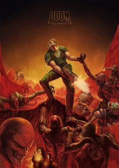 Doom Tribute by agentscarlet.deviantart.com on @deviantART