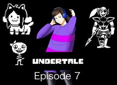 TEMMIE ARMOR AND MEETING UNDYNE - Undertale 7