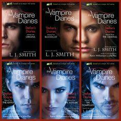 The Vampire Diaries: Stefan's Diaries #books