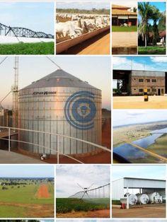 Fazenda c/ 2.465 alqueirões goiano, 80 % formada, 3.700 ha irrigados para cultura de soja e/ou feijão, 29 pivôs centrais, 120 divisões de pastos formados em braquearão, todos com água encanada ou natural com bebedouros c/ 30.000 lts, armazenagem central de água c/ 400.000 lts, 05 retiros, 30 casas feitas em alvenaria e escritório com 400 m², galpão p/ estocagem de adubo, oficina, tanques de combustíveis, 02 sedes, uma com 500 m² e 05 suítes e a outra c/ 250 m². Confinamento de bois com…