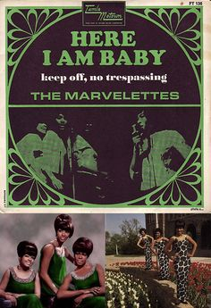 """The Marvelettes' Wanda Rogers had one of the sexiest voices at Motown. Hear her fabulous lead vocal on """"Here I Am Baby"""" (1968) in my board, """"My Music: The Girls""""."""