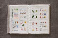 [스티치북 도안린넨] Basic Embroidery Stitches, Hand Embroidery Tutorial, Embroidery Designs, Embroidery Books, Stitch Patterns, Print Patterns, Stitch Book, Pattern Books, Couture