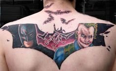 MyBlog: Batman Tattoos