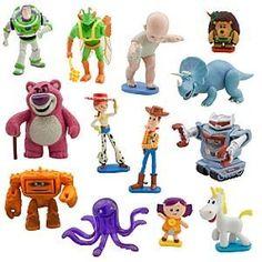 Disney Deluxe Toy Story 3 Figurine Play Set -- 13-Pc. @ niftywarehouse.com #NiftyWarehouse #Toy #Story #Movie #ToyStory #Pixar