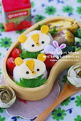 Stuffed animal bento