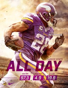 Adrian Peterson Composite on Behance