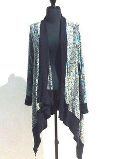 À vendre sur #vintedfrance ! http://www.vinted.fr/mode-femmes/cardigans/37685103-long-gilet-femme-la-fiancee-du-mekong-nuances-de-bleus-4244-xl