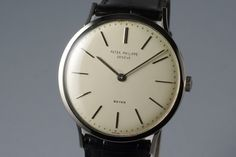 Vintage WG Patek Philippe 3484 with Beyer Double Name Dial