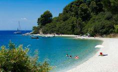 Panormos beach, Skopelos Island !!
