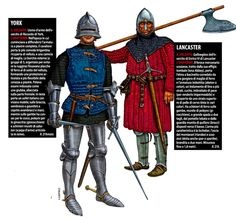Giorgio Albertini. Yorkist and Lancaster at the Battle of St. Albans (1455).