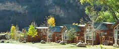Glenwood Springs Hotel and Resort - Glenwood Canyon Resort Colorado Cabins, Colorado Trip, Colorado River, Glenwood Springs Hotel, Glenwood Canyon, Adventure Center, Yurts, Hotel Suites, Hotels And Resorts