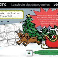 Préscolaire-spirale des découvertes-Caroline Gingras-Créations Maths, Creations, Boutique, Products, Boutiques