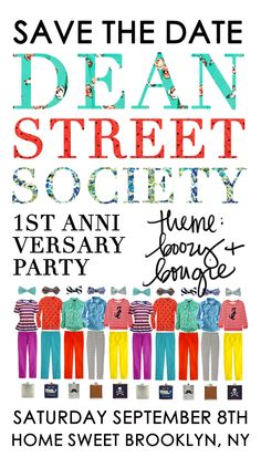 Dean Street Society Anniversary Party