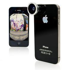 Fisheye Pro Lens at Firebox.com. Awesome.