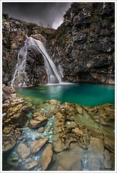 Fairy pools.. Scotland