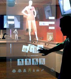Interactive Retail Window