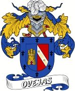 De Ovejas Spanish Coat Of Arms www.4crests.com #coatofarms #familycrest #familycrests #coatsofarms #heraldry #family #genealogy #familyreunion #names #history #medieval #codeofarms #familyshield #shield #crest #clan #badge #tattoo #crests #reunion #surname #genealogy #spain #spanish #shield #code #coat #of #arms
