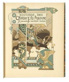 Eugène Grasset - Les quatre fils Aymon, 1883 - next picture