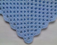 Crochet Baby Blanket Pattern. PDF 020. by vivartshop on Etsy