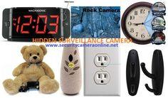 Hidden surveillance camera systems for home