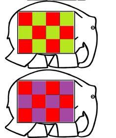 Elmo kleuren spel Elmer The Elephants, Color Games, Album, Kindergarten, Maths, Stage, Fictional Characters, Infant Activities, Early Education