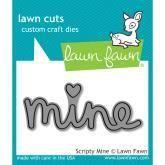Lawn Fawn - Lawn Cuts - Scripty Mine - PreOrder