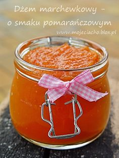 Carrot-orange jam- Dżem marchewkowy - o smaku pomarańczowym European Dishes, Creative Food Art, Polish Recipes, Foods With Gluten, Canning Recipes, Food Inspiration, Dessert Recipes, Food And Drink, Yummy Food