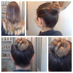Hair by Liz Fanlo Makeup and Hair Bridal Hair Buns, Bun Hairstyles, Looks Great, Hair Accessories, Dreadlocks, Hair Styles, Makeup, Beauty, Fashion