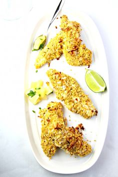 Coconut Crusted Chicken with Pineapple Jalapeno Salsa | Udi's® Gluten Free Bread