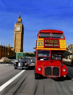 Catto Gallery | Available artwork  | Big Ben