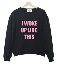 i woke up like this SWEATER BEYONCE FLAWLESS yonce by MINGAlondon, £19.50
