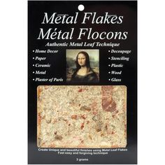 Mona Lisa Varigated Gold Metal Flakes..129