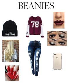 """Beanie style 🔥💕"" by explorer-14657557446 ❤ liked on Polyvore featuring H&M and LASplash"