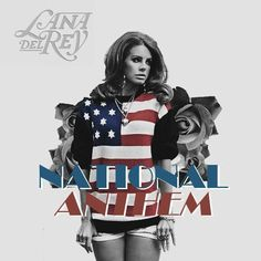 Lana del Rey - National Anthem (cover artwork)