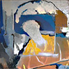 "Saatchi Art Artist: Joe Rice; Mixed Media 1998 Painting ""star"""