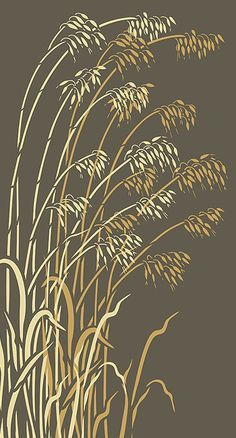 T T Wild Grass Stencils Oversize Wild Oats Stencil Stencils, Stencil Art, Bird Stencil, Damask Stencil, Wild Grass, Stencil Patterns, Camo Patterns, Glass Etching, Pyrography