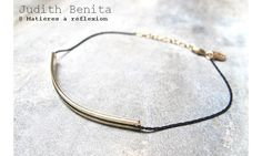 Judith Benita bracelet Isme noir doré #judithbenita #bracelet #isme #black #noir #dore #golden #jewelrys #jewels #bijoux